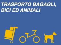 TRASPORTO BAGAGLI, BICI ED ANIMALI