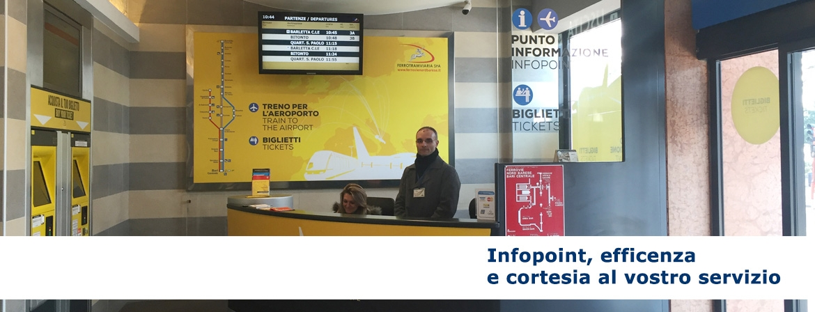 Infopoint, efficenza e cortesia